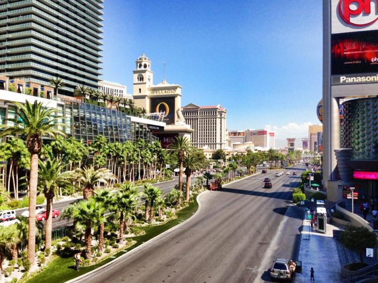 Avenida Strip em Las Vegas nos Estados Unidos
