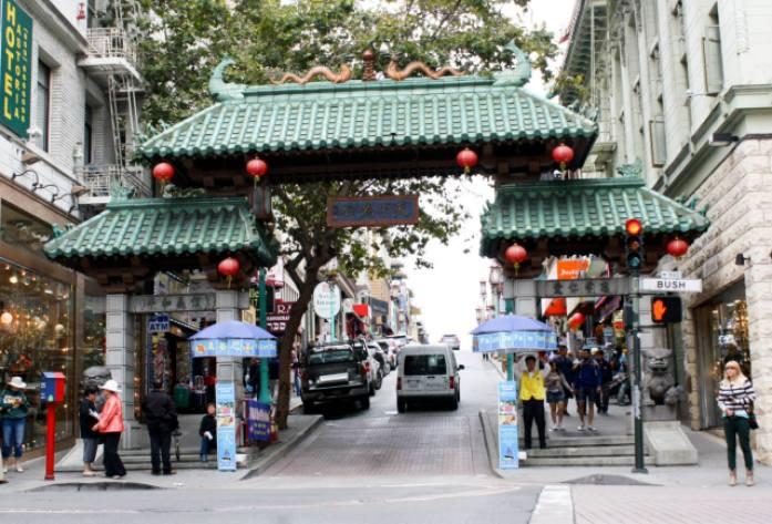 Entrada para a Chinatown