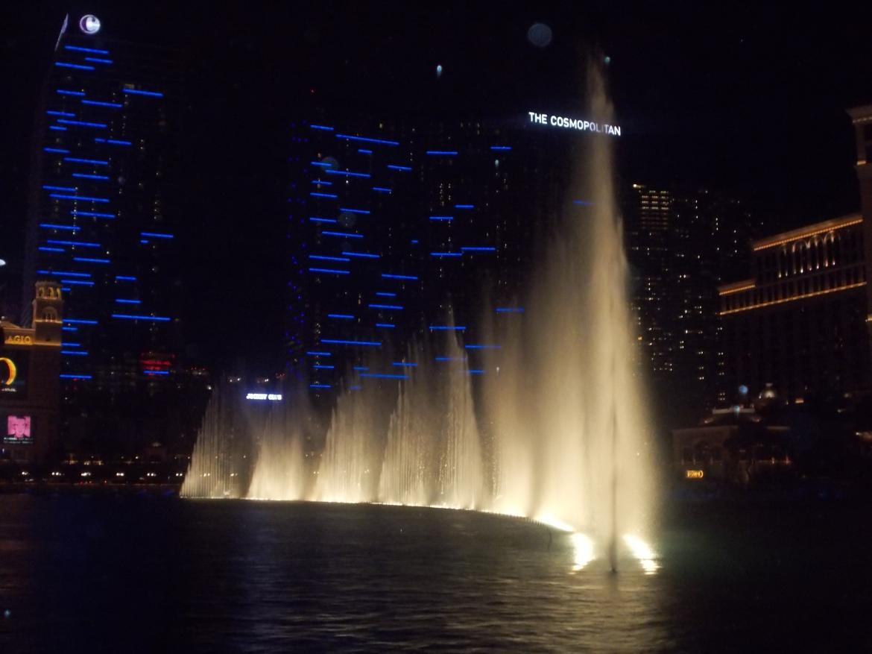 dança das águas em Las Vegas nos Estados Unidos