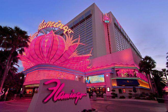 Frente do Hotel Flamingo