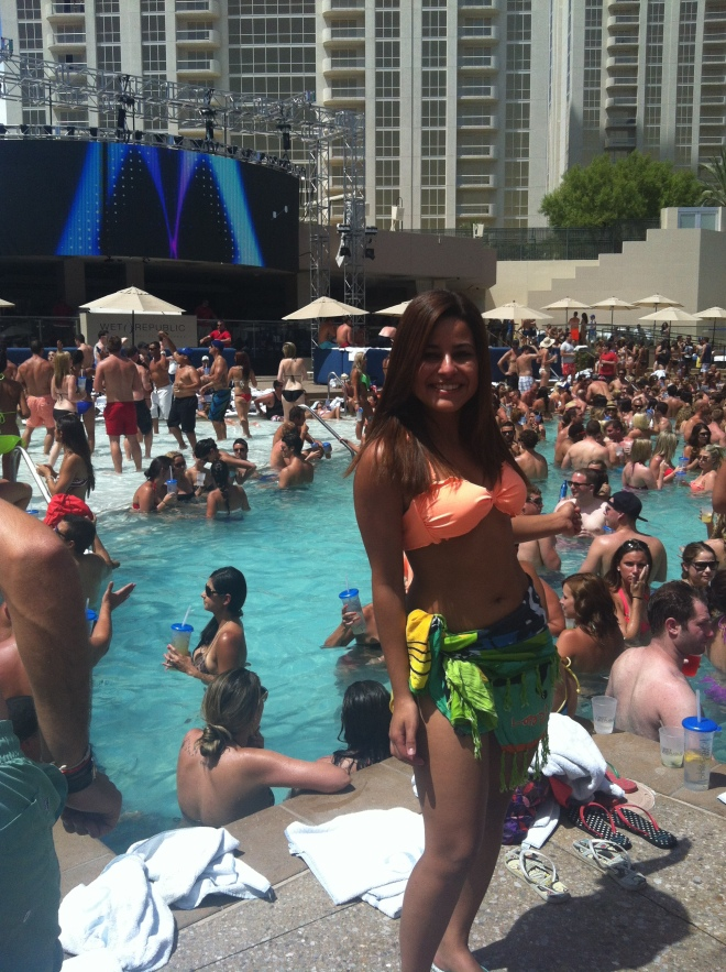 Pool Party na Wet Republic
