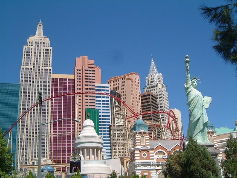 Montanha Russa no Hotel New York New York - Casino - O que fazer em Las Vegas