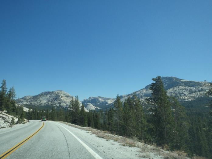 Yosemite Park Tioga Road