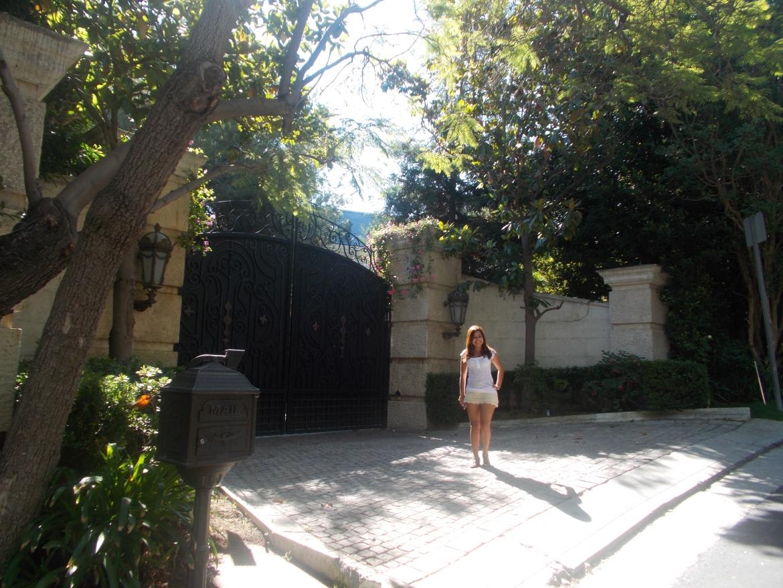 casa Michael Jackon em Beverly Hills