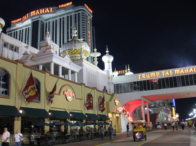 Hard Rock Café em Atlantic City
