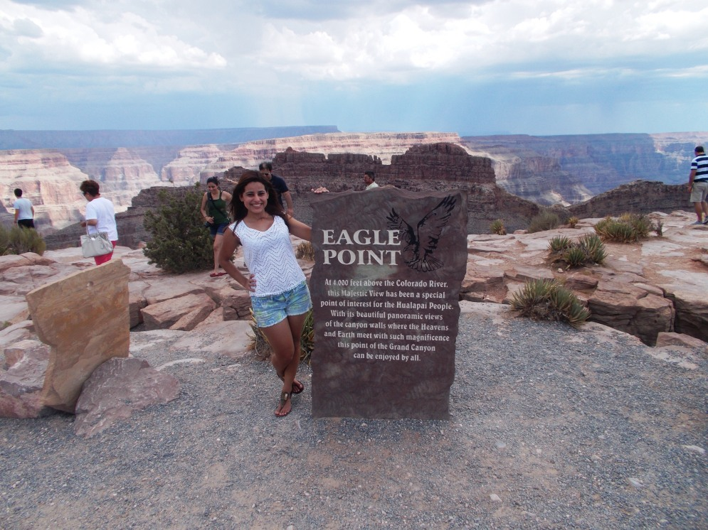 Eagle Point no Grand Canyon