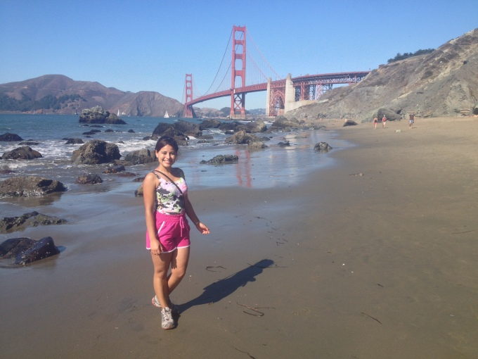 marshall beach Golden Gate Bridge