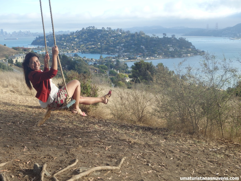 Hippie tree, balanço em Tiburon
