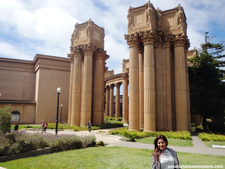 Palacio de Belas Artes em San Francisco