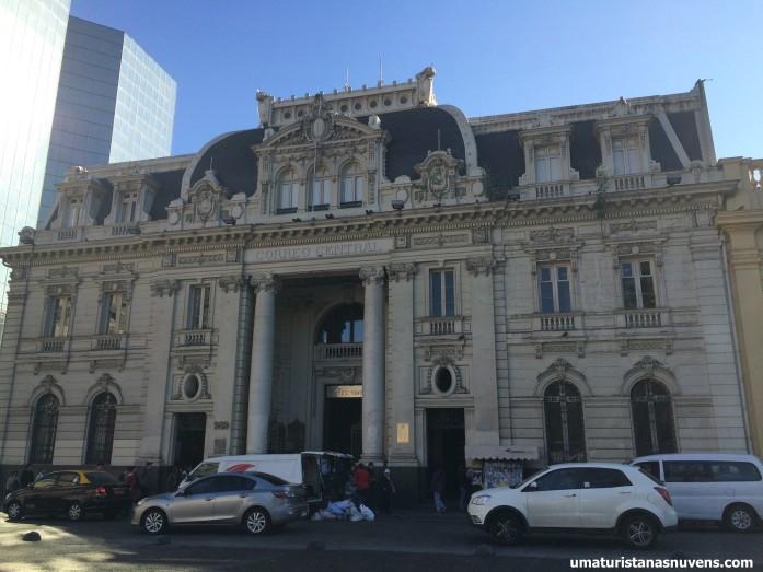 correo central Santiago tour gratuito