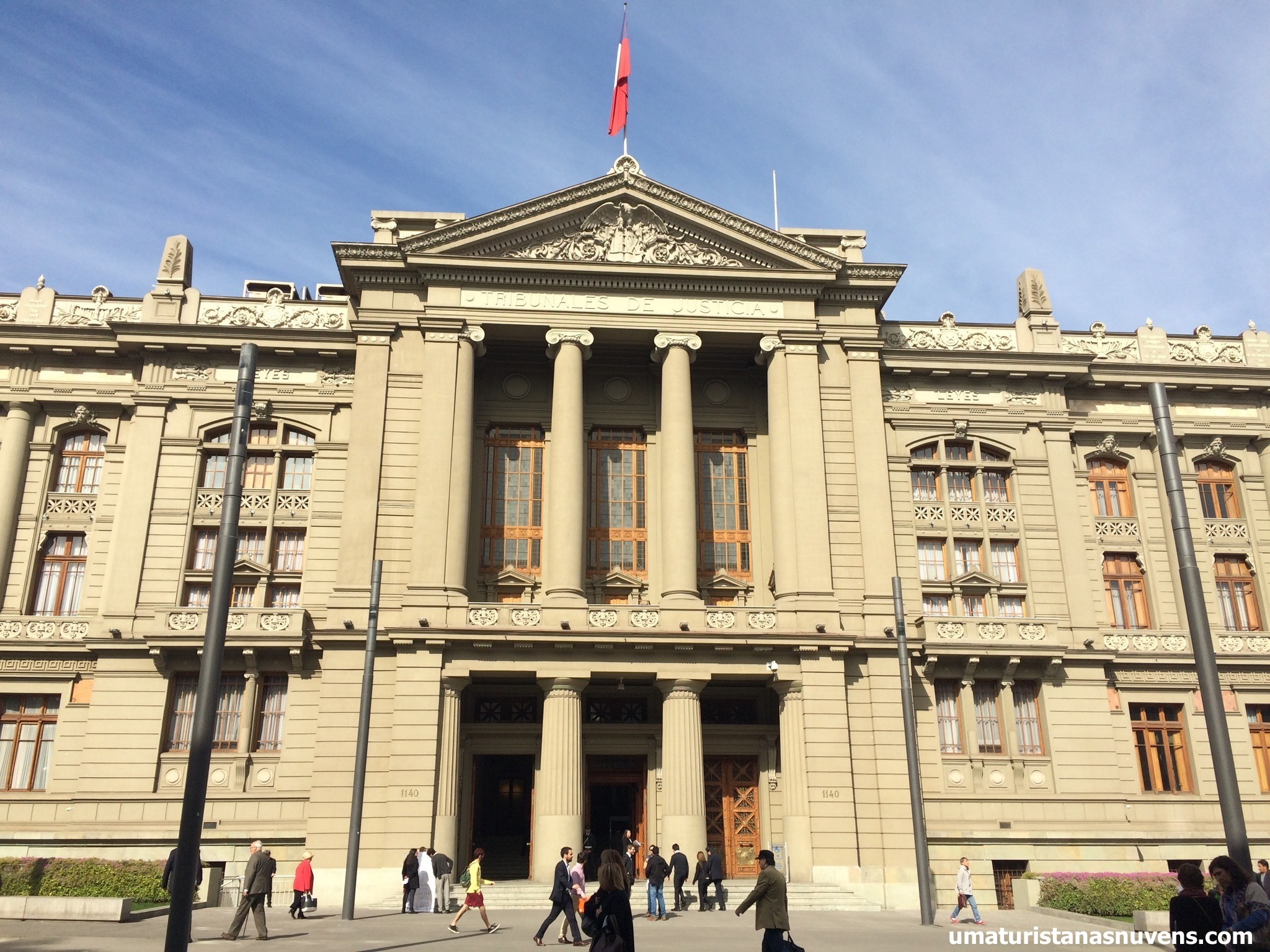 corte suprema Santiago tour gratuito
