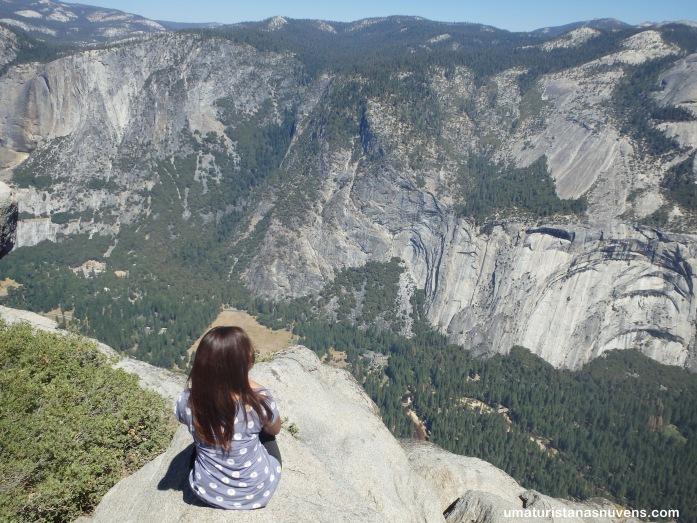 No parque Yosemite na California-Estados Unidos